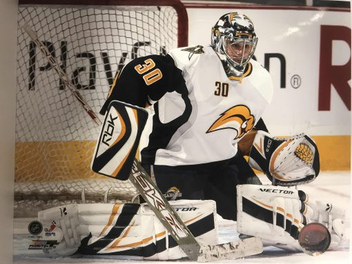 RYAN MILLER OFFICIAL NHL LICENCED 8X10 PHOTO- HORIZONTAL