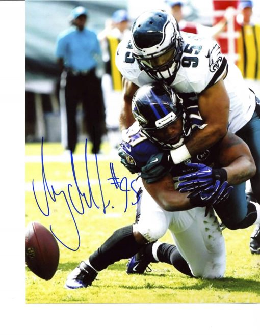 MYCHAL KENDRICKS SIGNED FRAMED 8X10 PHOTO