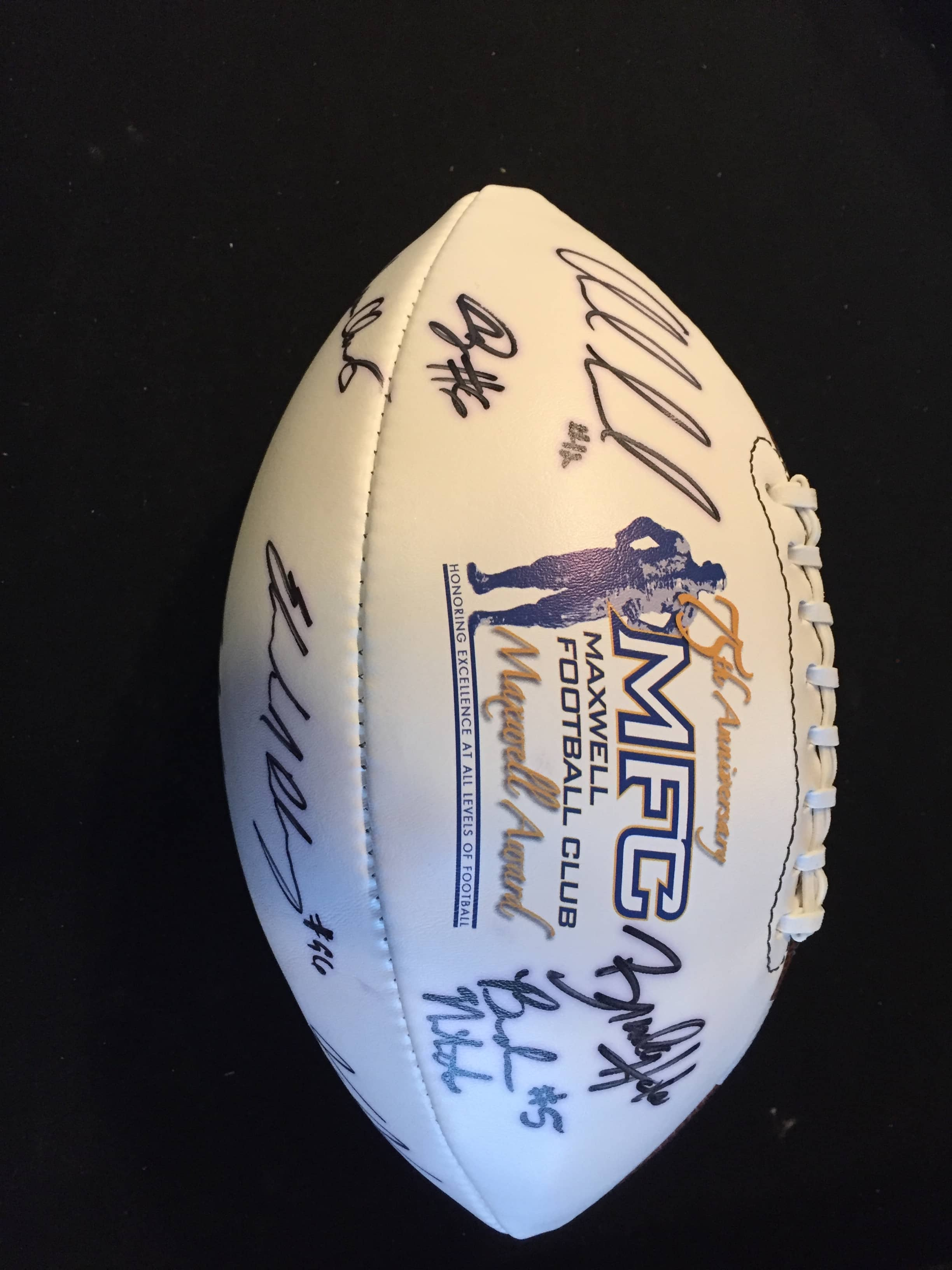 best loved 47b21 c36c2 ANDREW LUCK, ARCHIE MANNING AND MORE MULTI SIGNED FOOTBALL