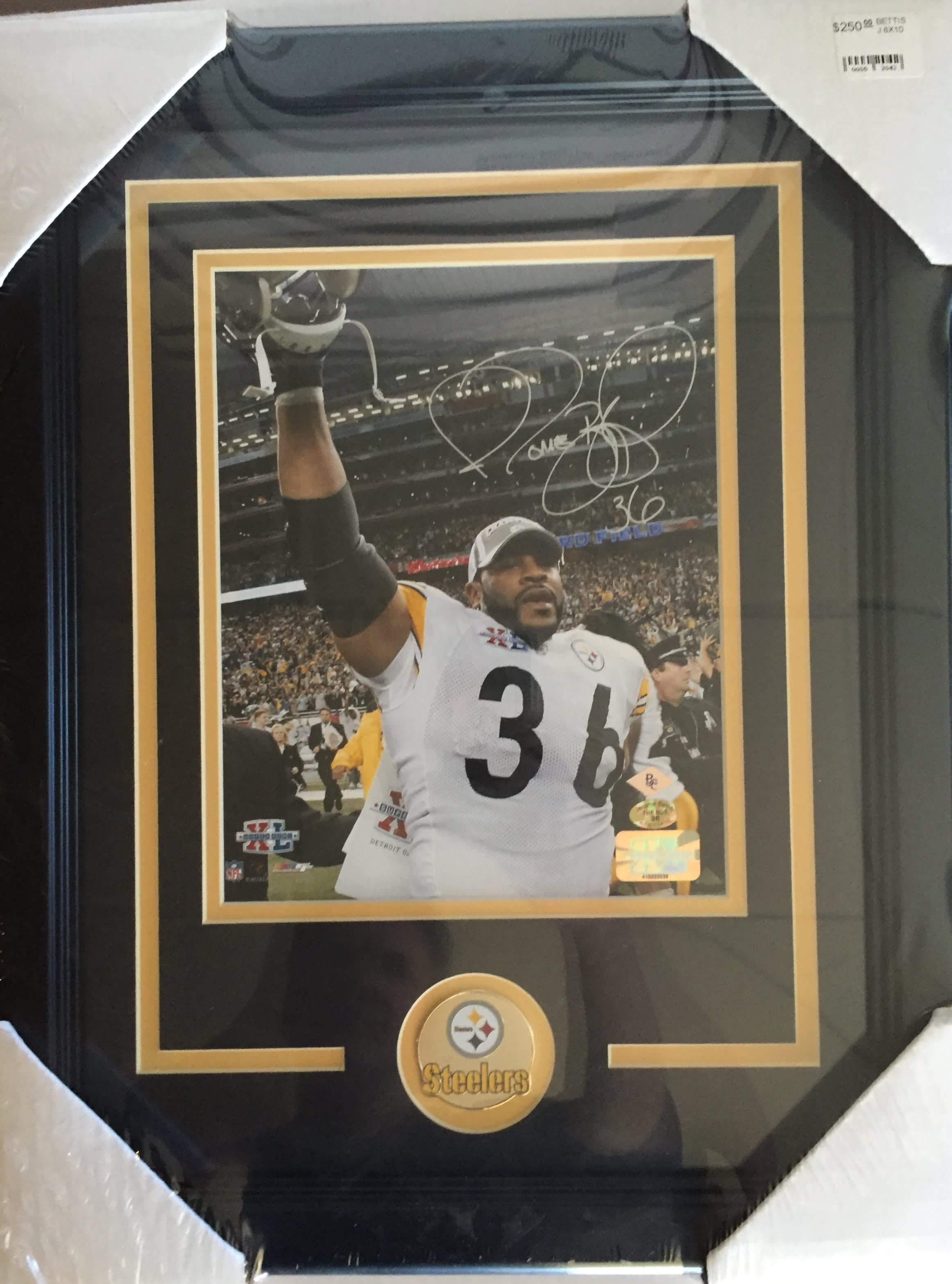 4cd2a7445e0 JEROME BETTIS AUTOGRAPHED 8X10 FRAMED PHOTO - Philly Man Cave